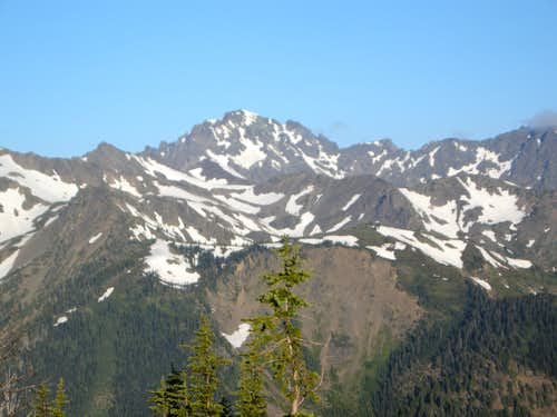 Mt. Deception from Marmot Pass