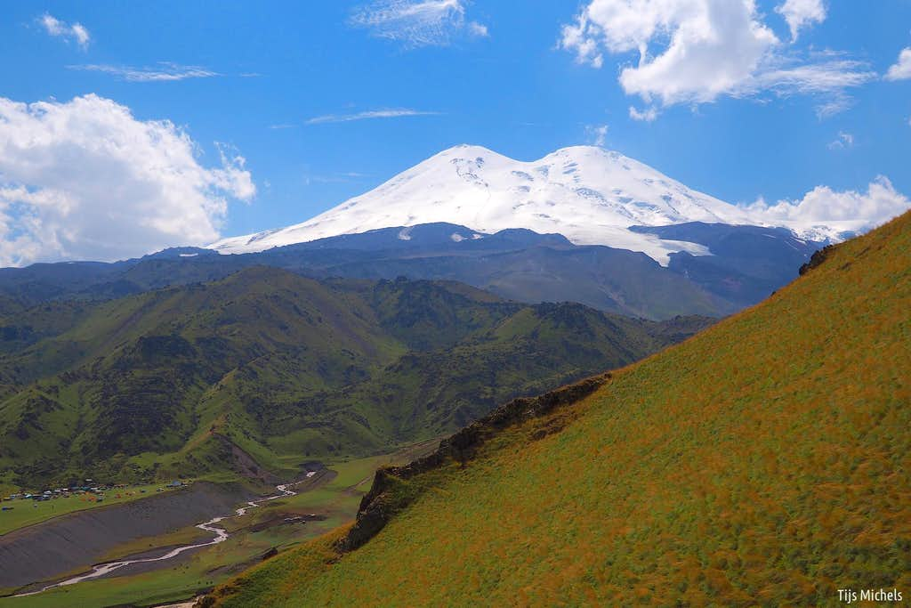 Elbrus from the north