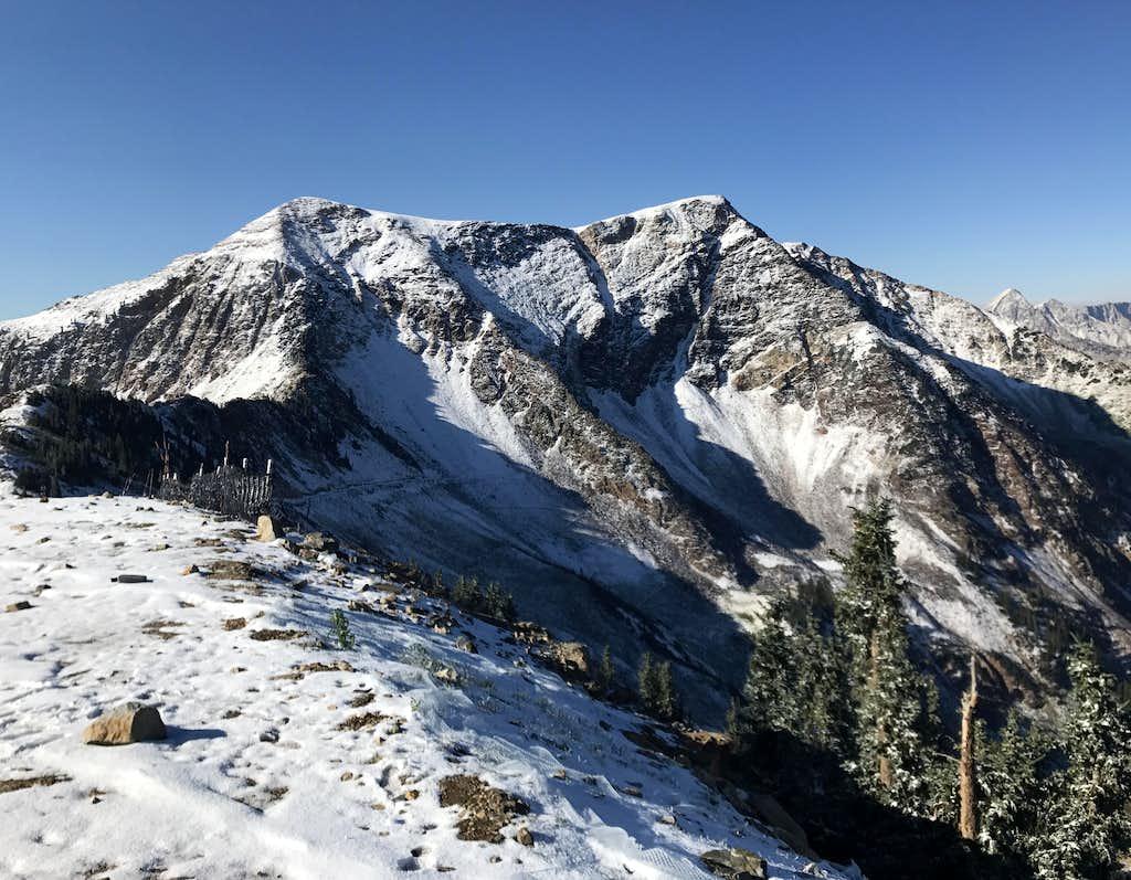 First snow 2017/2018 season