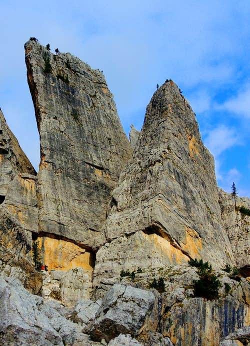 Torre Quarta Alta and Quarta Bassa
