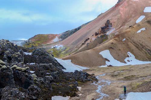 Hiking from Landmannalaugar
