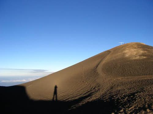 Crater and summit of Volcan...