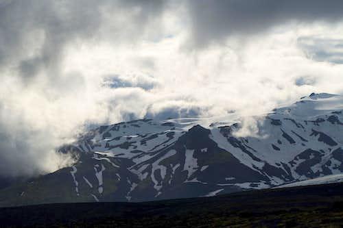 slopes of Eyjafjallajökull