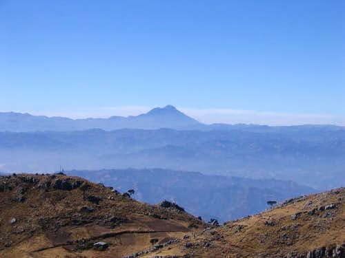 View of Tajumulco from Cerro...