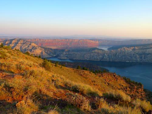 Sunrise at Dowd Mountain Overlook