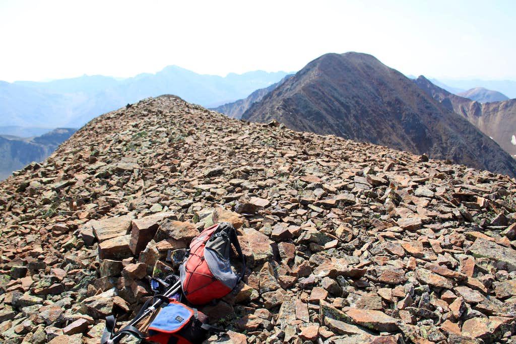 Summit of Gravel Mountain