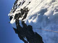 Ridge to Cabeza de Condor summit