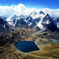 Condoriri and Chiar Khota Lake