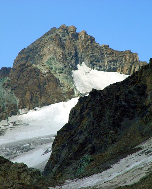Verte de Valsorey Northeast Ridge to the right 2003