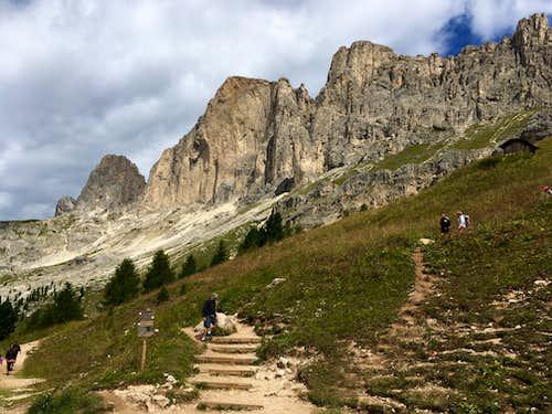 Tscheiner Spitze, Rotwand and Teufelswandspitze