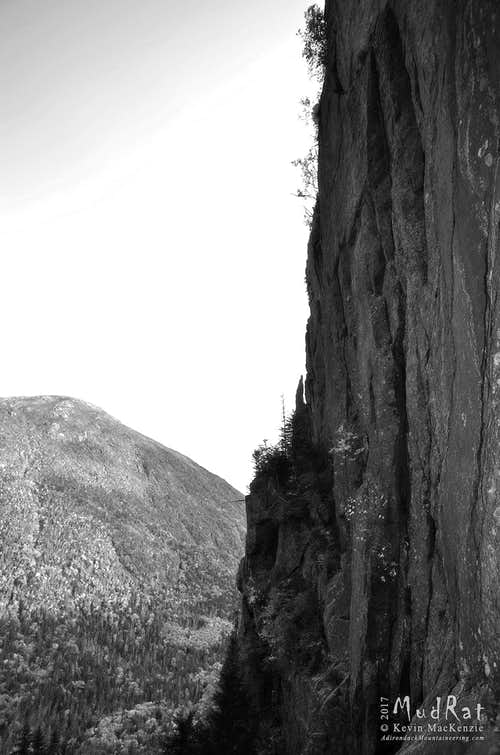 Needle on the Chimney Wall of Mt. Marcy