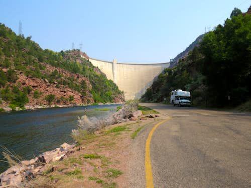 Flaming Gorge Dam