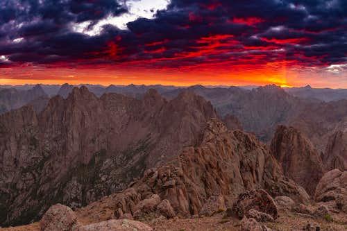San Juan glory from Turret Peak