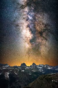 Milky Way over the Grenadiers