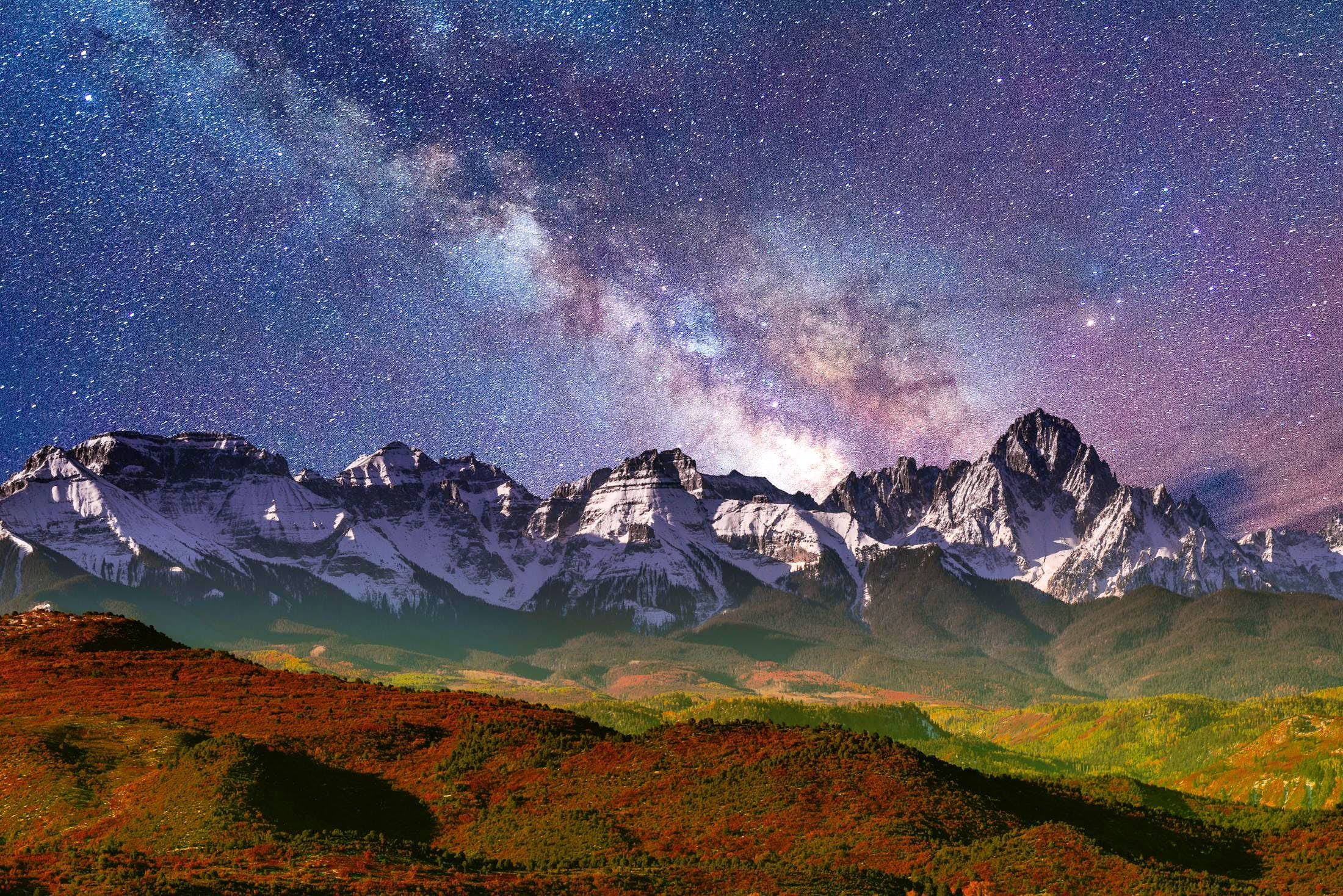 Milky Way Photographs