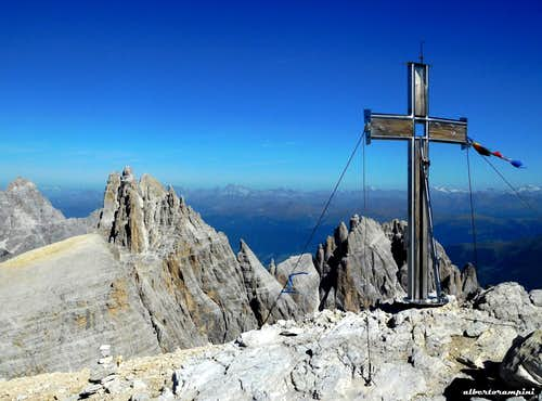 Summit of Monte Popèra