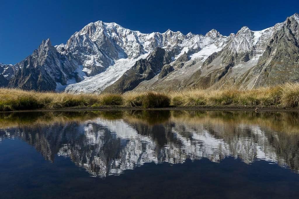 Mont Blanc and Satellites