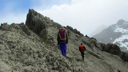 Approaching East Summit