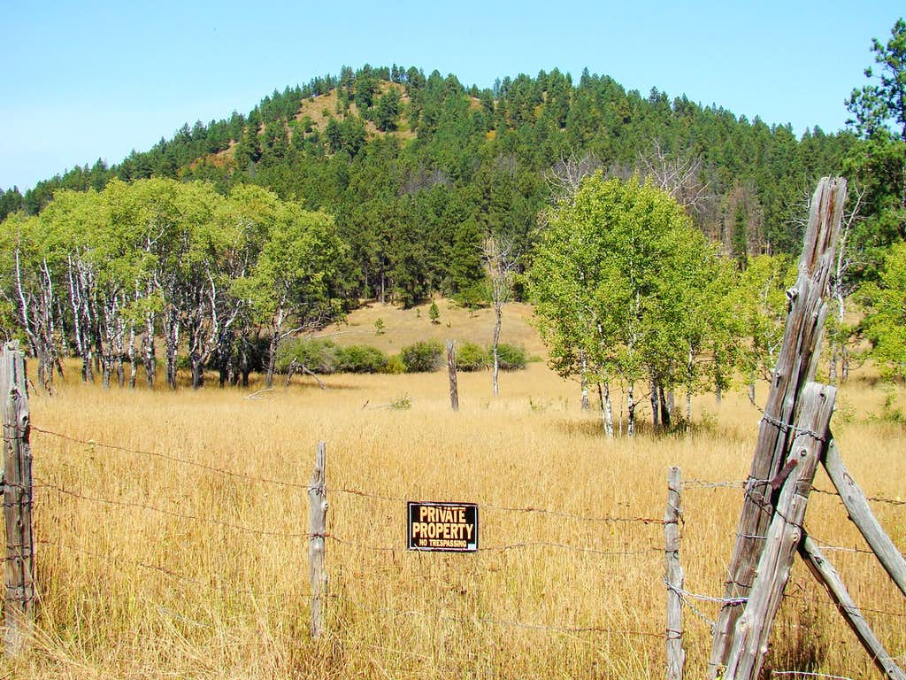 Mathews Ranch Boundary