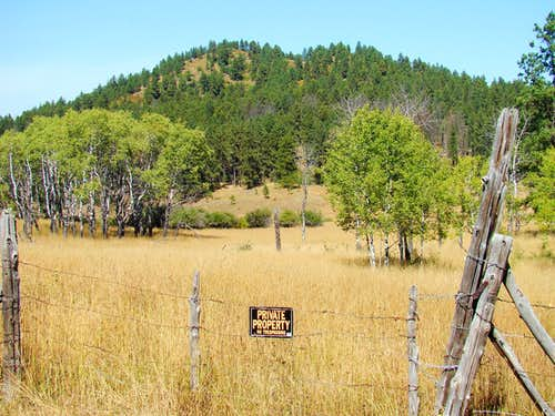 Mathews Ranch Boundary
