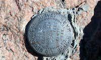 Granite Peak Survey Monument