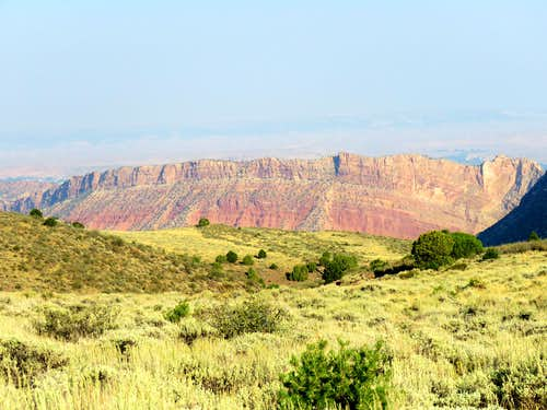 Walls of Flaming Gorge