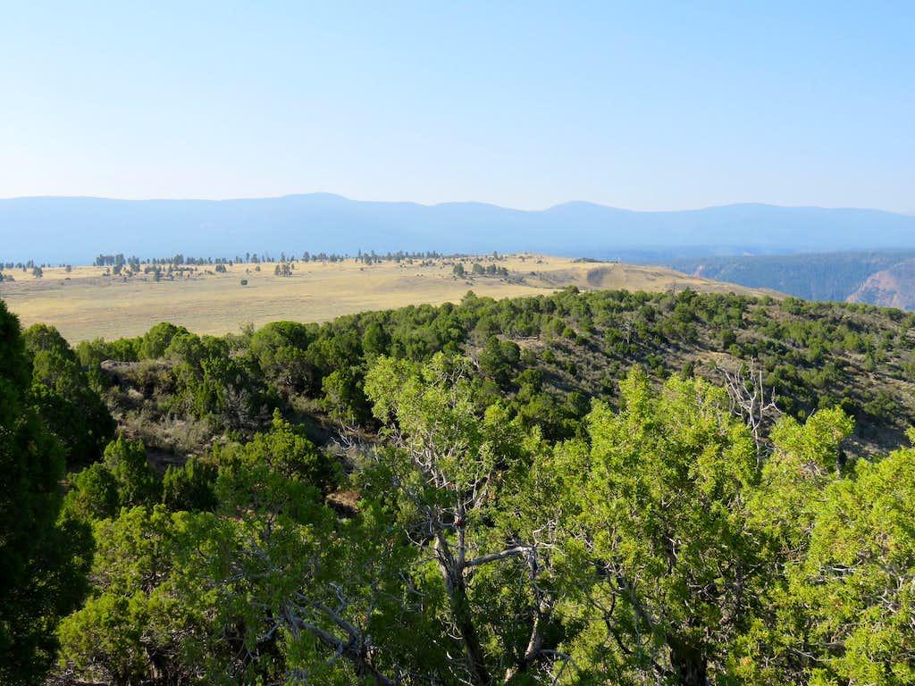 Looking toward Point 7730 ft