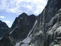 Ice Cliff Couloir from low on...