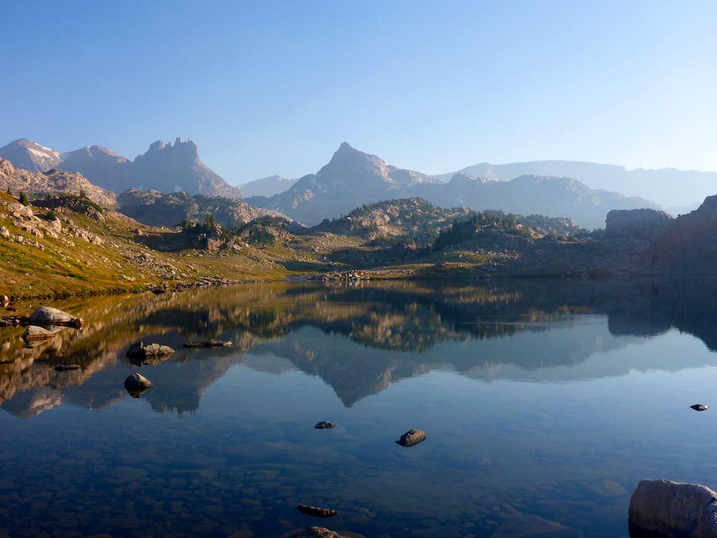 Lone Elk Lake Reflections