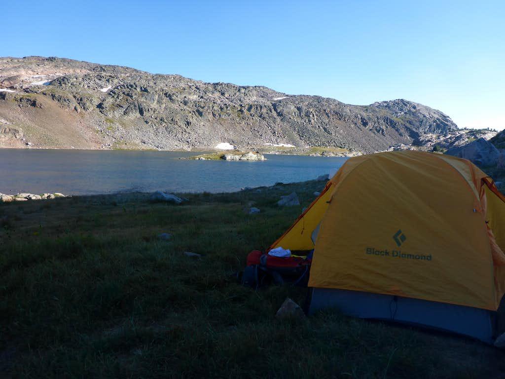 Lone Elk Lake Camp