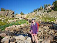 Inlet to Lone Elk Lake