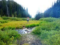 Granite Peak - Lady Inlet Stream