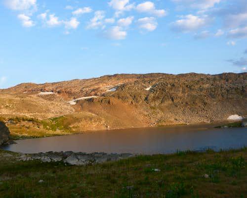 Lone Elk Lake - Sunset