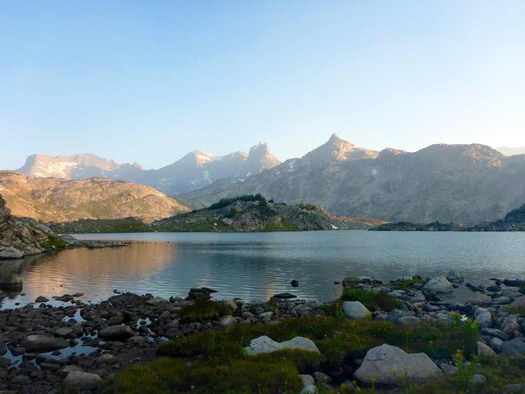 Rough Lake morning
