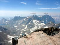 Granite Peak - Looking South