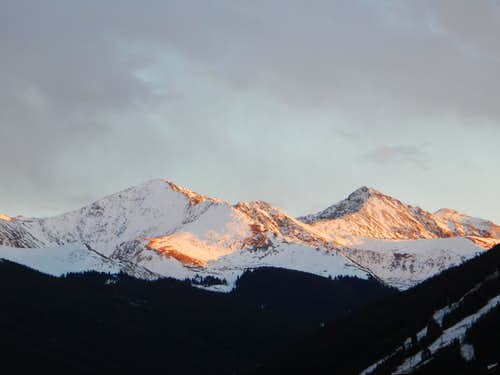 Crystal and Pacific Peaks