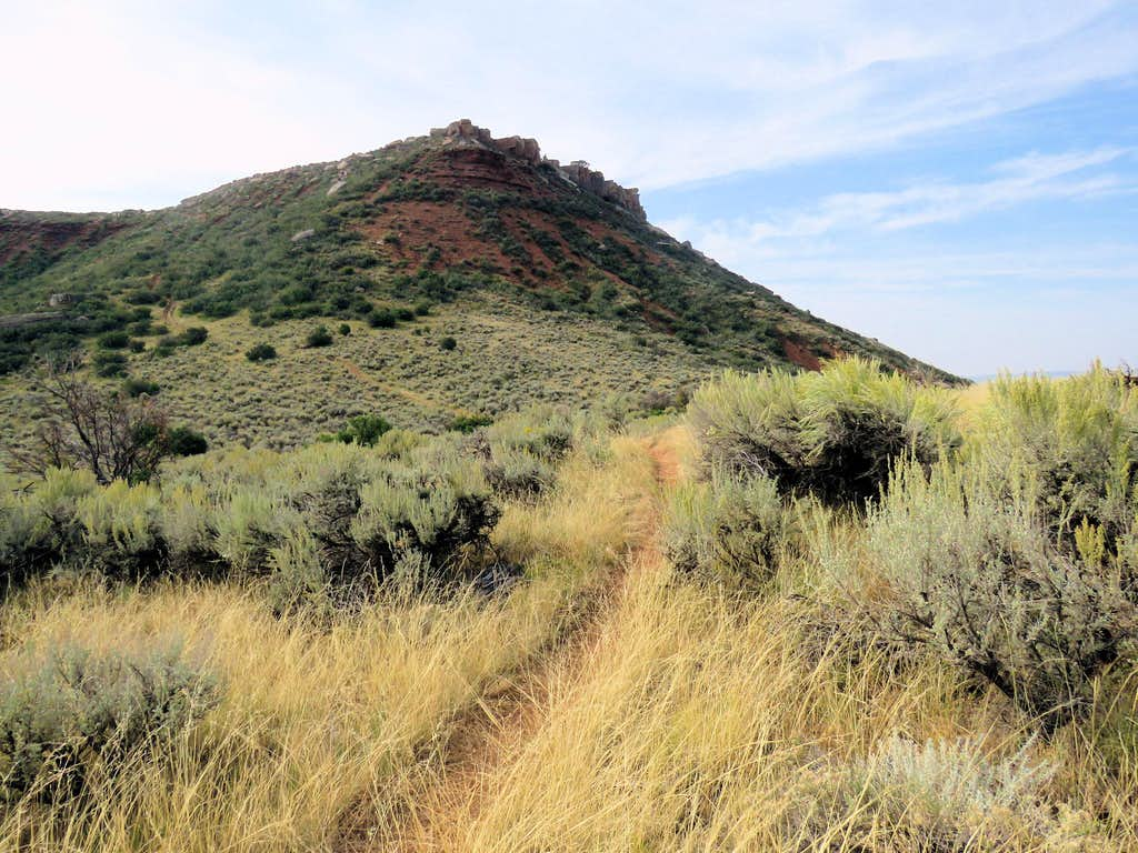 Summit of Red Mountain