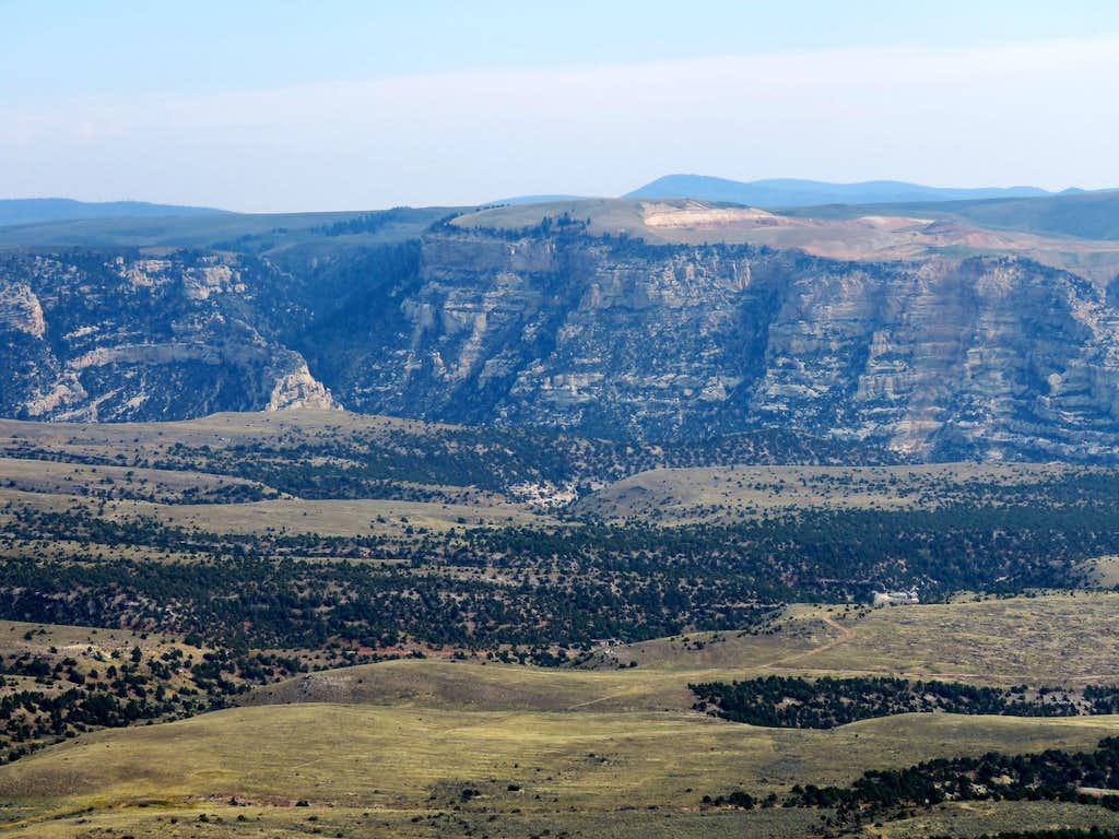 Little Mountain, looking SW
