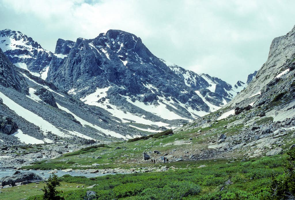 Hiking Up to the Tarns Camp