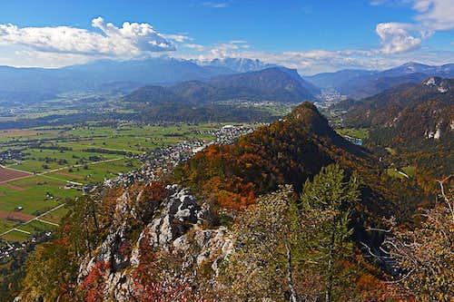 On the E ridge of Smokuski vrh