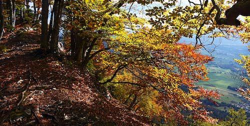 Smokuski vrh in autumn