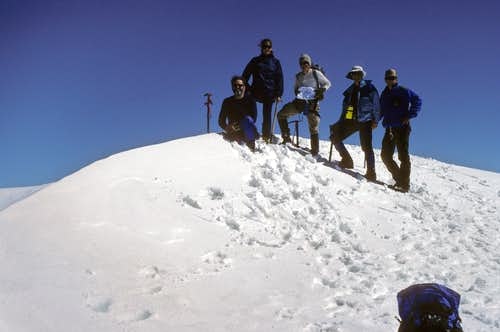 Team on Summit - Highpoint of WY