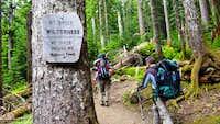 Heliotrope trail