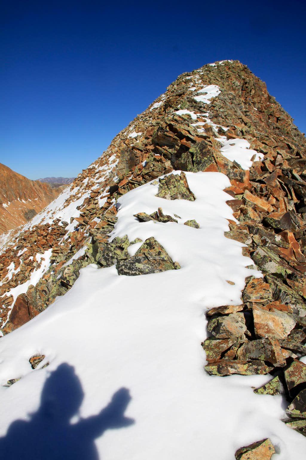 Summit of Beattie Peak