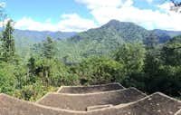 The new observation point at Chimney Tops
