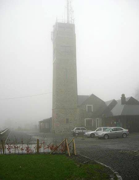 Fog and rain at Signal de...