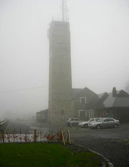 Fog and rain at Signal de...