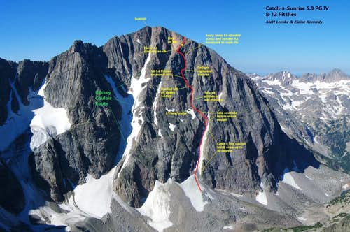 Glacier Peak Catch-a-Sunrise 5.9 PG First Ascent