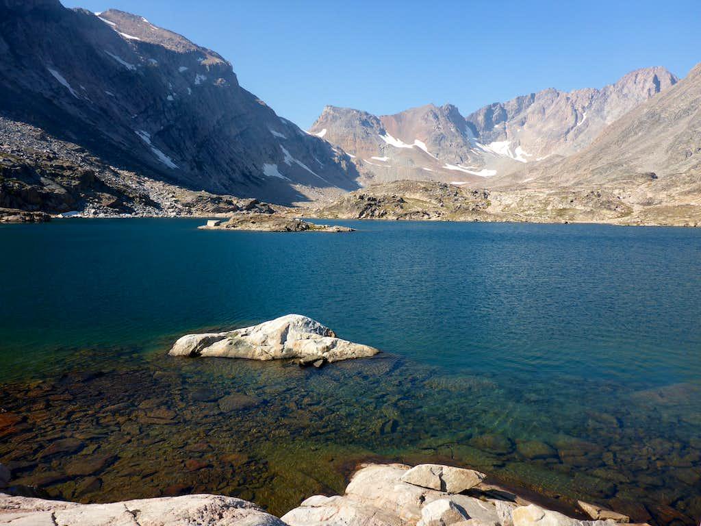 Granite Peak - Sky Top Lake