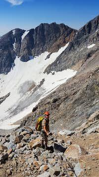 Granie Peak - First Hand-Line